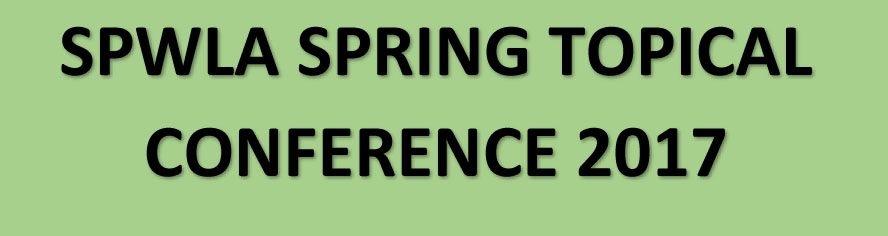 Spring Topical Conference on Value of Information...