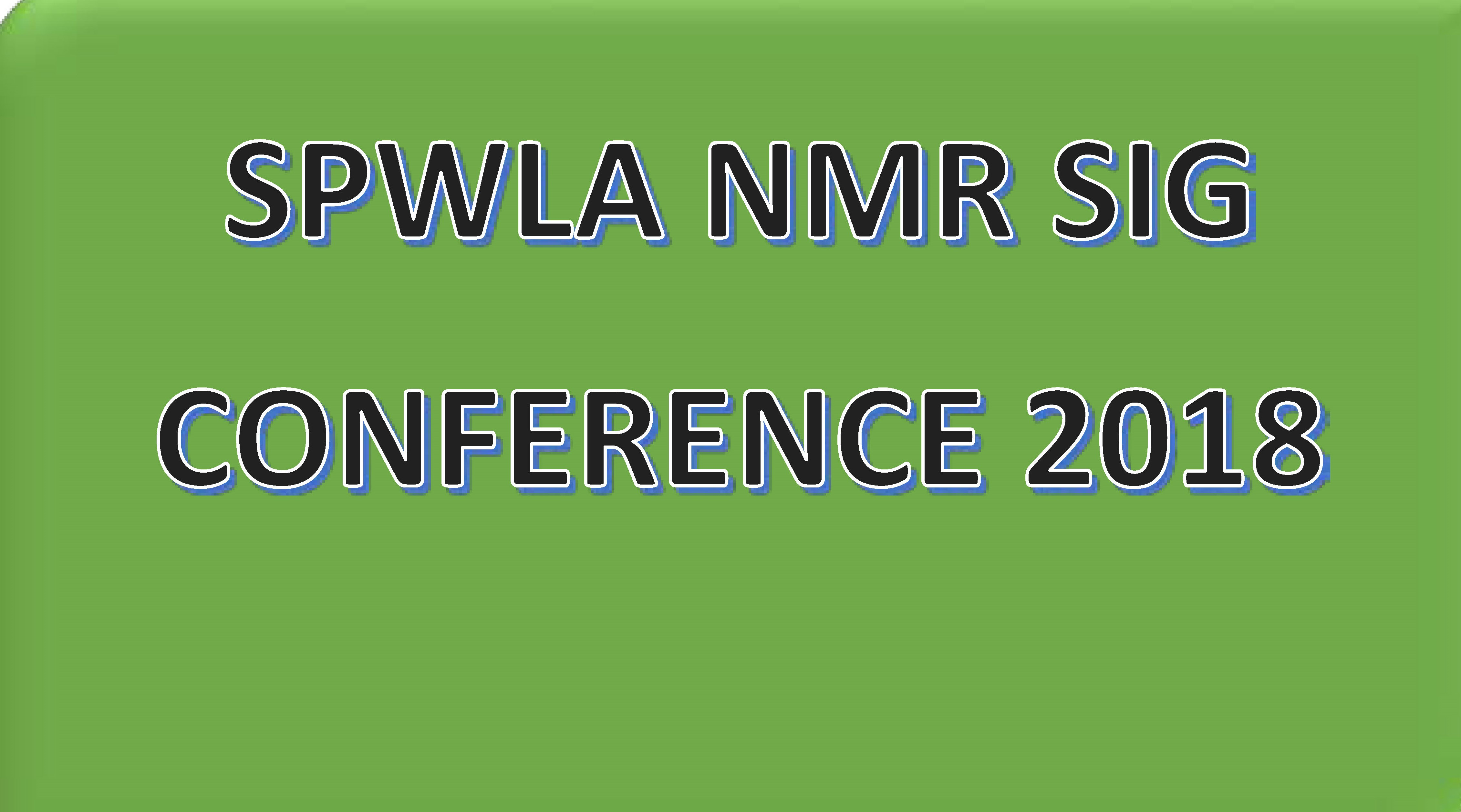 NMR SIG Conference 2018